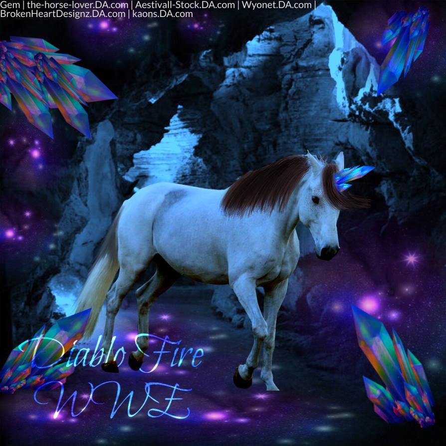 Crystal Unicorn Cave