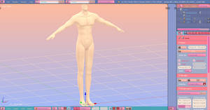 WIP - Male Body Base