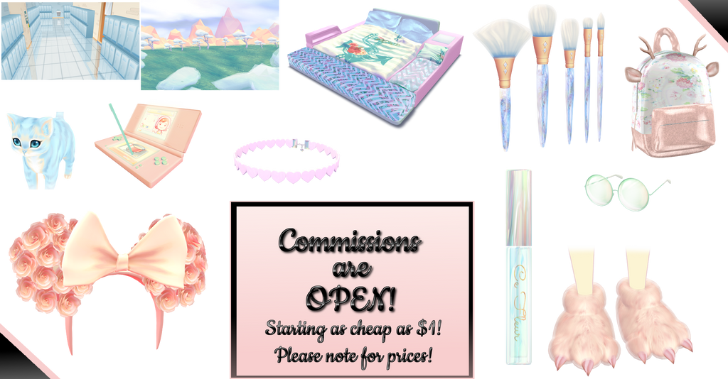 ~ MMD Commissions OPEN~ by Shiremide1