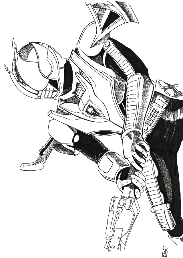 kamen rider coloring pages - photo#32