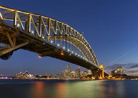 Sydney Harbour Bridge by Kyofuu