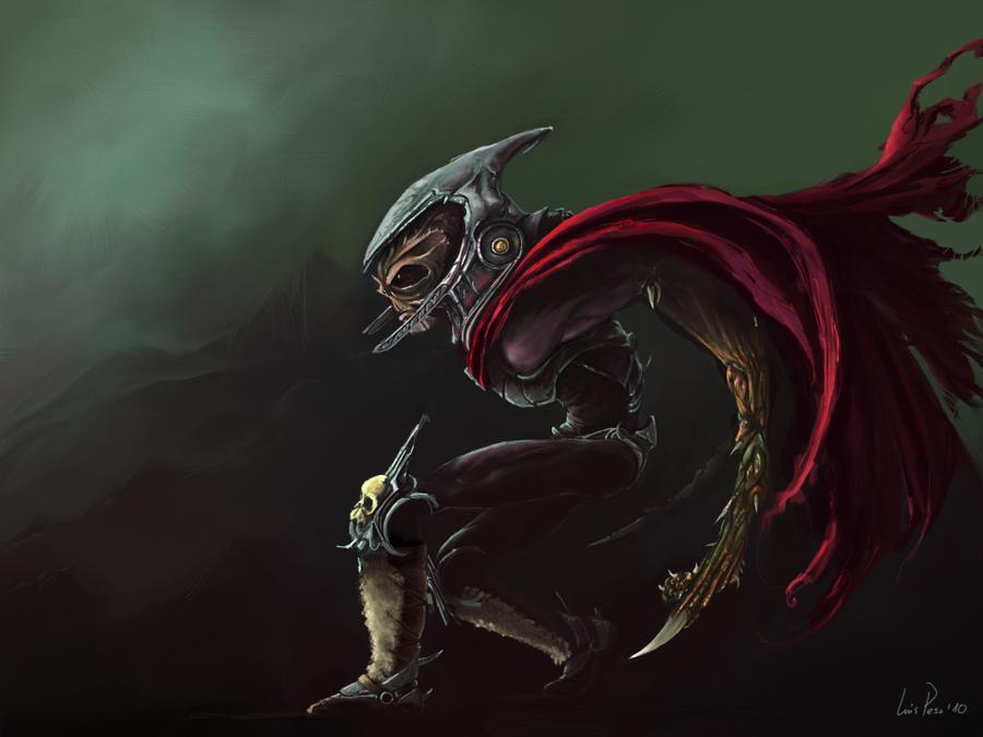 Dark Soldier Concept on iPad by nuevemonos on deviantART