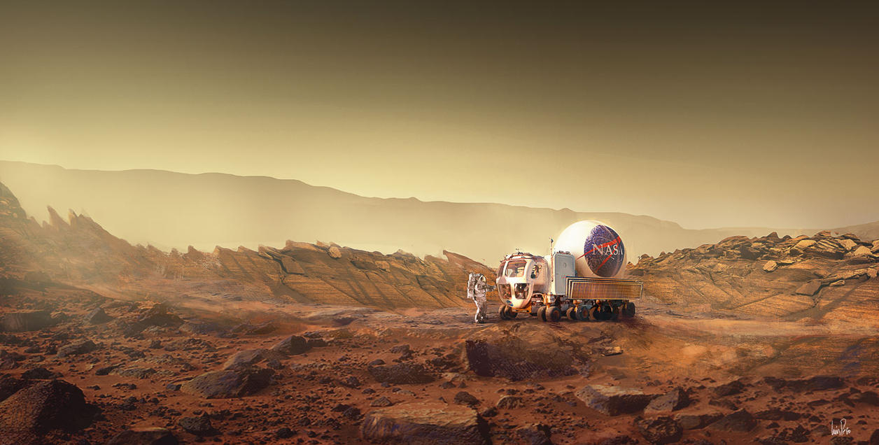 The Martian by nuevemonos