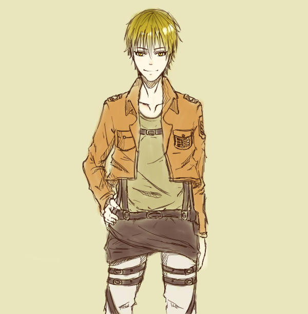 Kise {SNK crossover} by GelliiAce