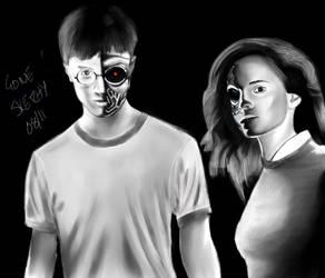 Harry Potter - Terminator by gonesketchy