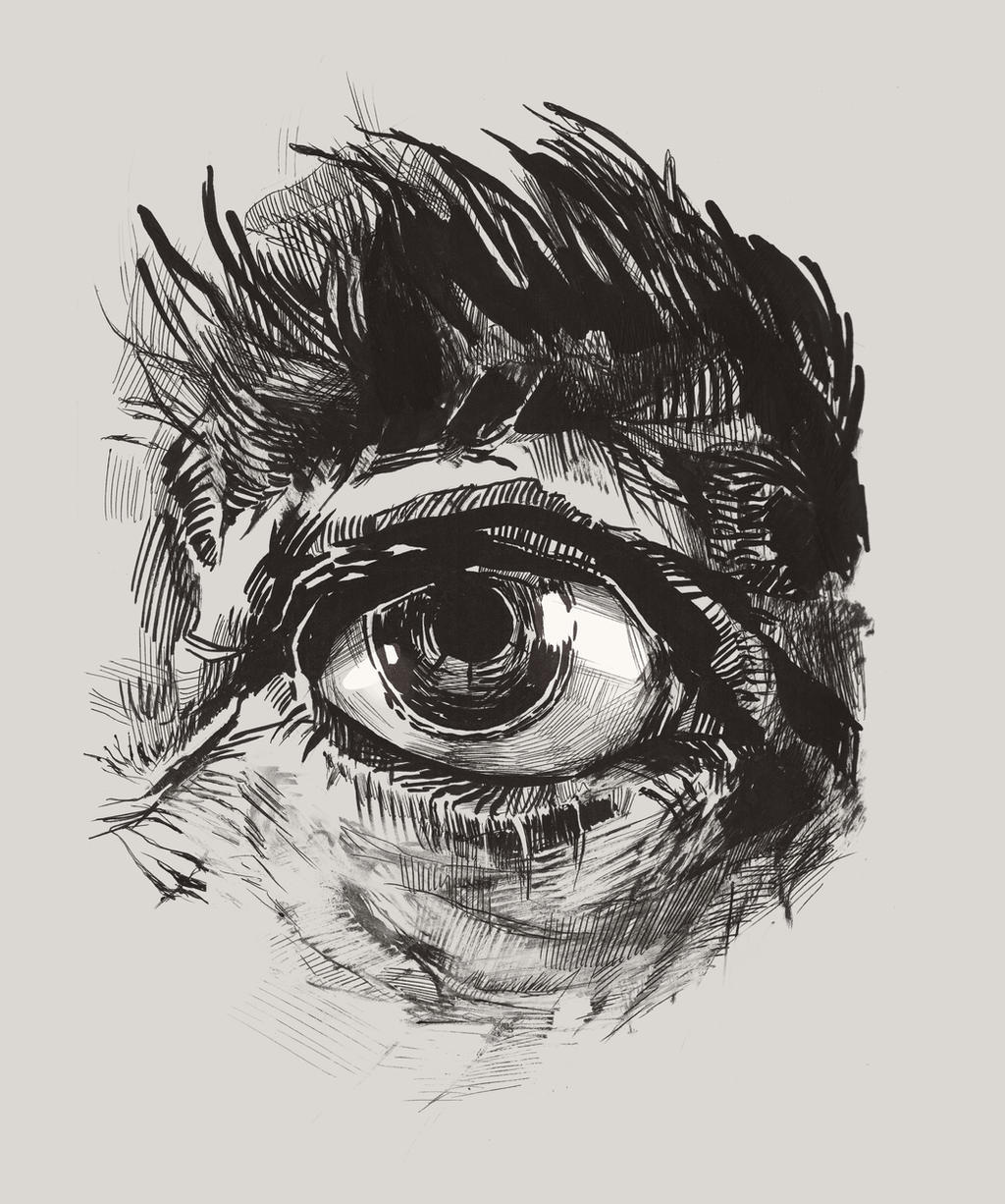 Hairy Eyeball by greyfin