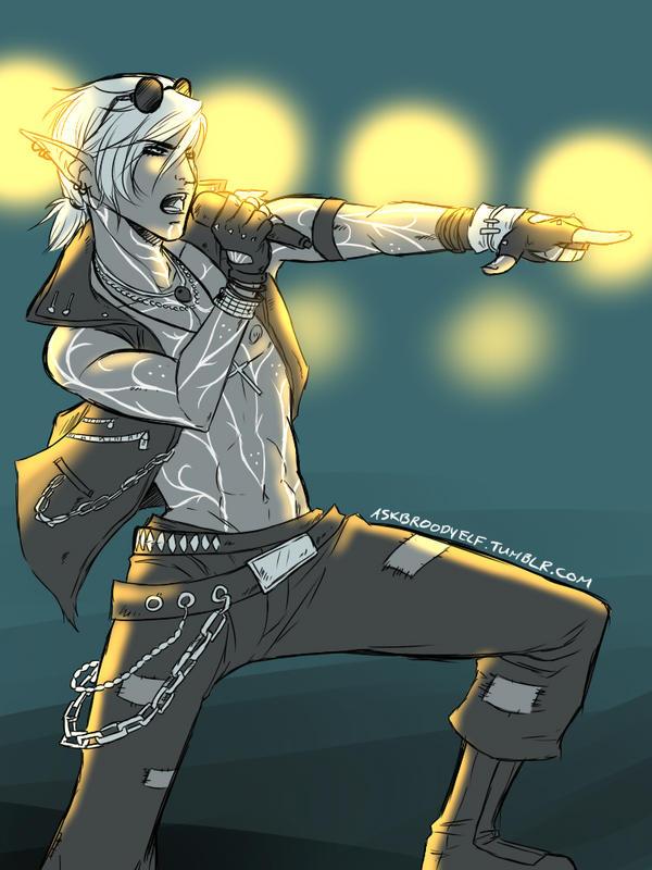 Rockstar Fenris by Y-n-Y