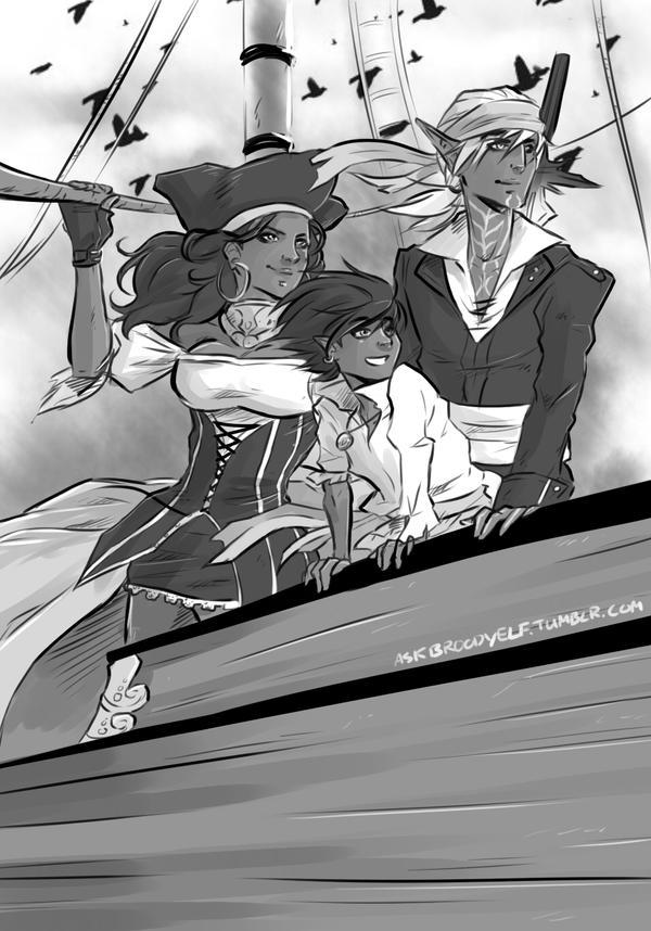 DA2 : Pirates of Thedas by Y-n-Y
