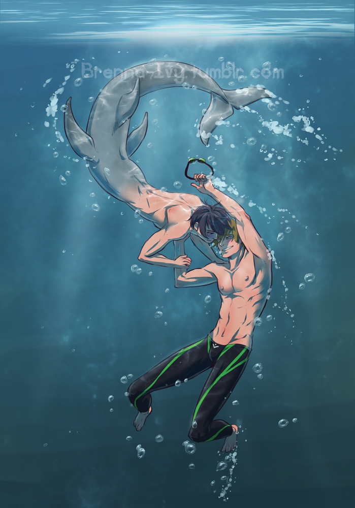 Free! : Merman Haru by Y-n-Y