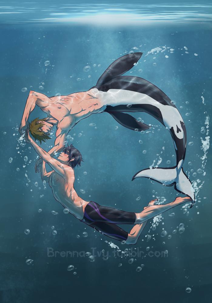 Free! : Merman Makoto by Y-n-Y