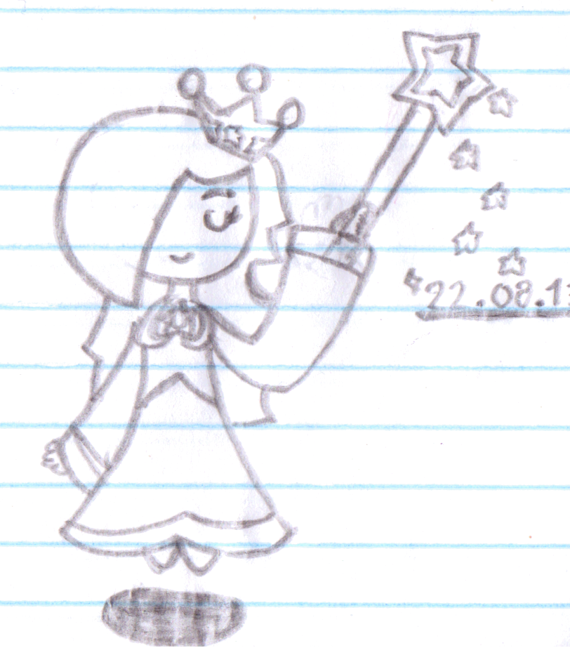 Rosalina doodle by Twinky-05