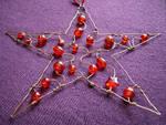 Red Copper Star by SneddoniaDesigns