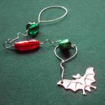Jingle Bat - a Xmas decoration by SneddoniaDesigns