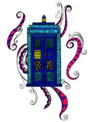 Blue Box by SneddoniaDesigns