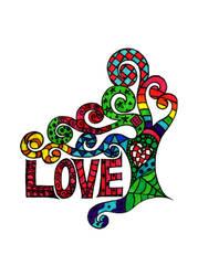 Tree of Love by SneddoniaDesigns