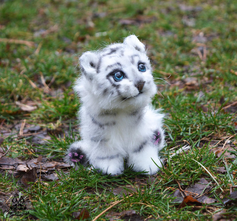 poseable art doll with Etsy  Mission White Tiger 523989471 on Galaxy Gryphon Plush Toy Stuffed Animal also Handmade Poseable Wolf Cub  mission 577017462 together with ETSY  mission White Tiger 523989471 moreover Ariana Grande Barbie Doll OOAK Repaint Poseable Custom 162157470369 besides 176561.