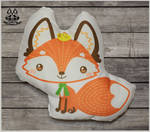 FOR SALE Fox pillow