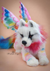Handmade Poseable toy Commission for Gigi by MalinaToys