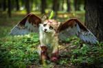 Poseable toy Commission for wingedwolfalari