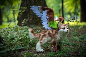 Poseable toy Commission for wingedwolfalari by MalinaToys