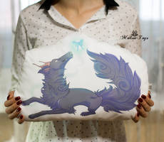 Pillow commission by MalinaToys