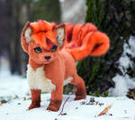 Poseable toy Commission Vulpix