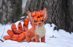 Sold! Poseable toy  Vulpix