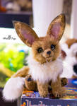 Poseable toy Commission Eevee pokemon