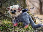 Poseable toy baby Trico