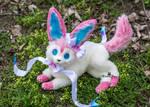 Poseable toy commission Sylveon Pokemon
