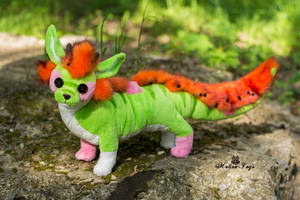 Poseable toy Commission by MalinaToys