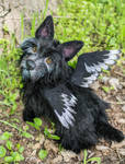 Poseable toy Commission Scottish terrier