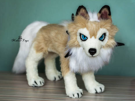 Poseable lycanroc midday form pokemon