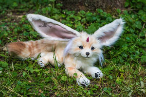 Poseable Toy commission Carbuncle from FFXV by MalinaToys
