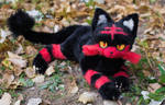 Poseable toy commission Pokemon Cat Litten