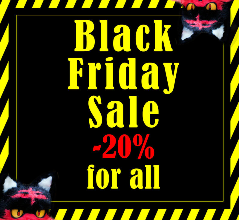 Black Friday sale -20% on ETSY by MalinaToys