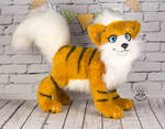 FOR SALE! Poseable Growlithe toy by MalinaToys