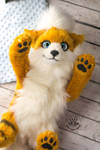FOR SALE! Poseable Growlithe toy
