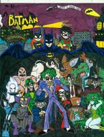 Batman group shot