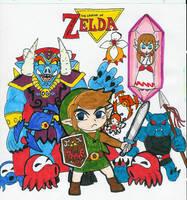 Legend of Zelda Classic by Hyliaman