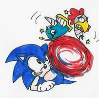 500 CC - 007: Sonic by Hyliaman