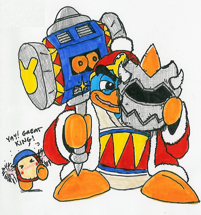 500 CC - 084: King Dedede by Hyliaman