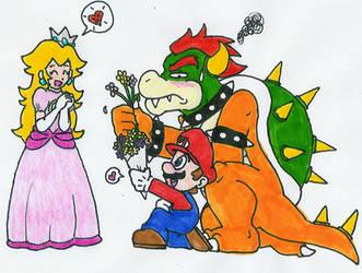 I love Super Mario Bros by Hyliaman