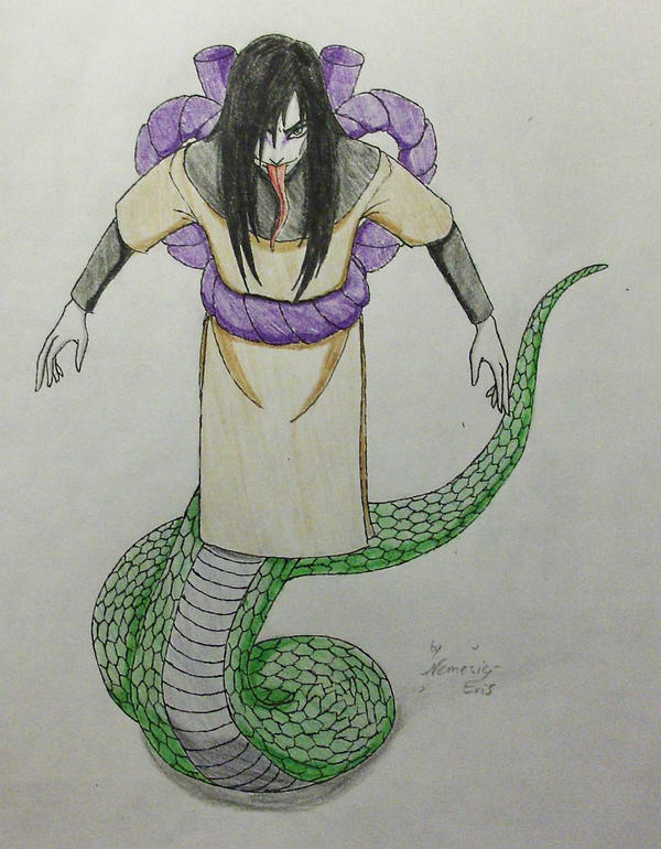 Orochimaru Snake by Nemesis-Eris on DeviantArt