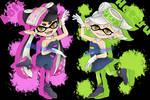 [Splatoon] Sea O' Colors (Squid Sisters)
