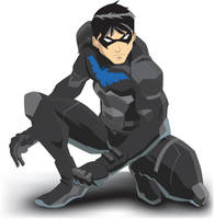 Young Justice Nightwing by yjrobin3