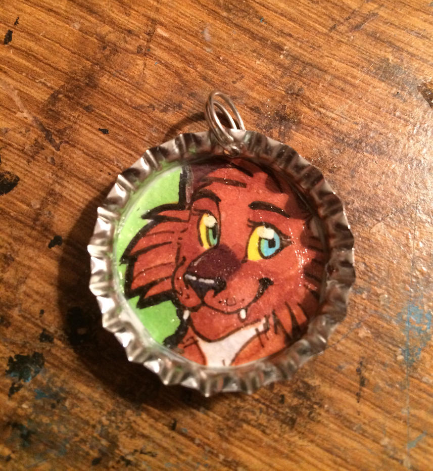 Dyme Bottle Cap by MidnightAlleyCat