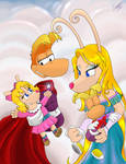 Rayman's Family Picture