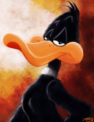 Daffy Duck by Carnage-Khan
