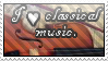 Classical Music Stamp by McNikk